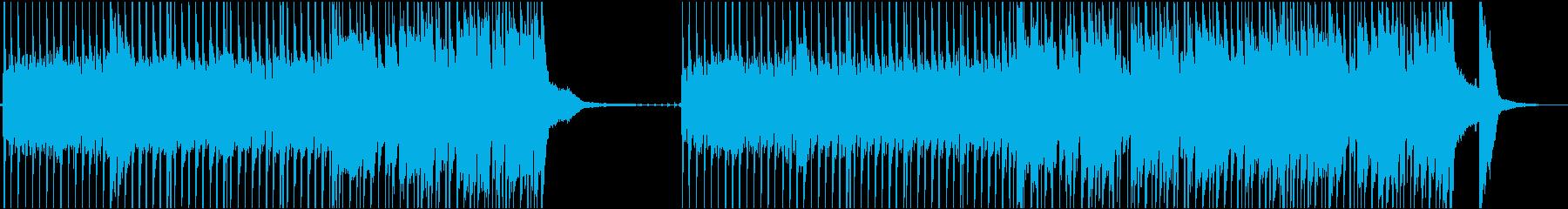 巨大なギタードリブンメタルトラック...の再生済みの波形