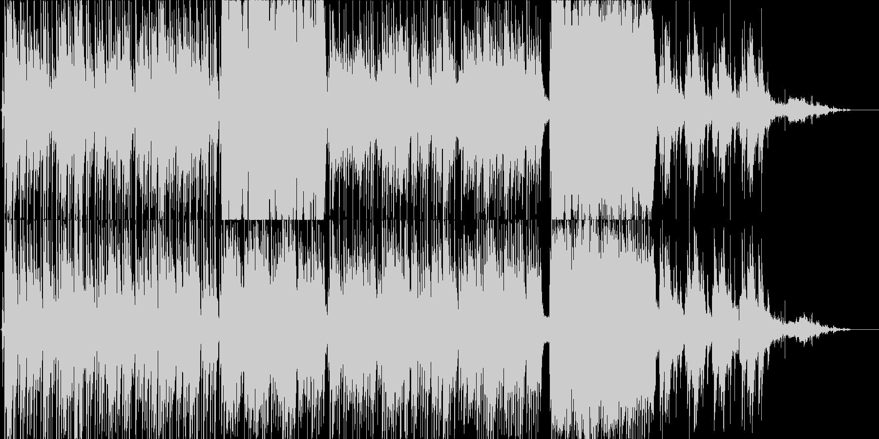 女性ロリータボイスによるメルヘン曲の未再生の波形
