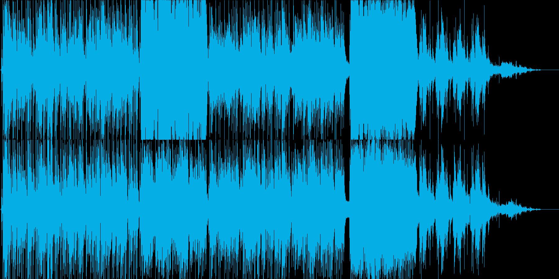 女性ロリータボイスによるメルヘン曲の再生済みの波形