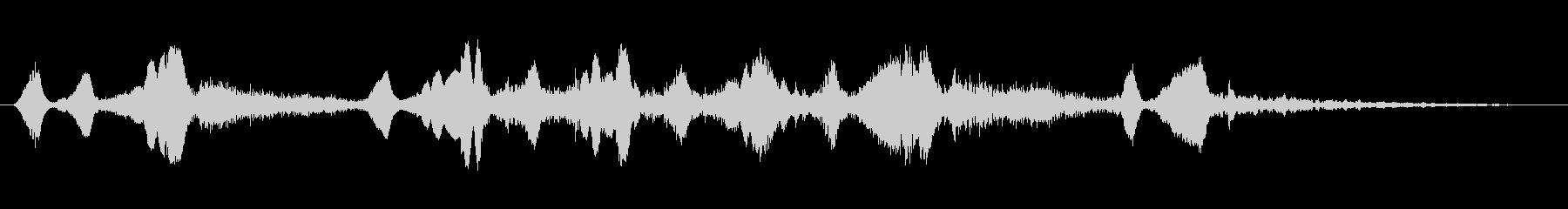 シンセ 巨大な歪みシーケンス02の未再生の波形