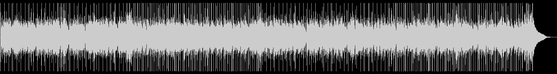 優しいマンドリンのソロ、カントリーBGMの未再生の波形