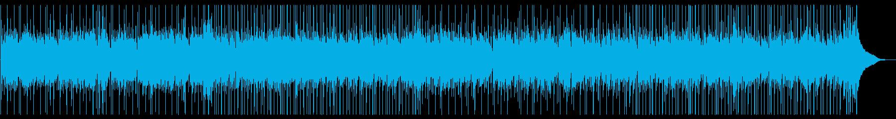 優しいマンドリンのソロ、カントリーBGMの再生済みの波形