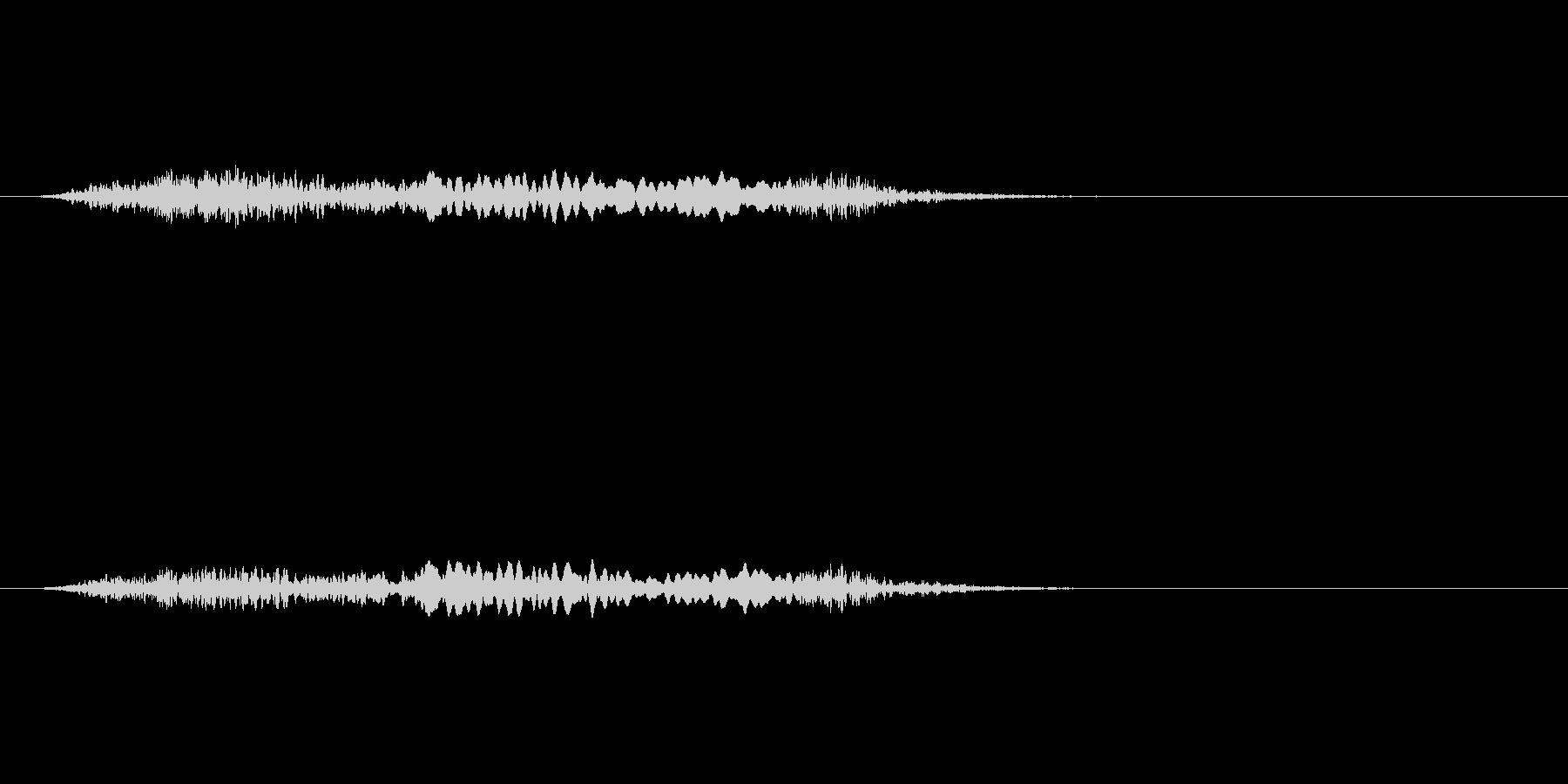 【絶叫 女性01-4】の未再生の波形