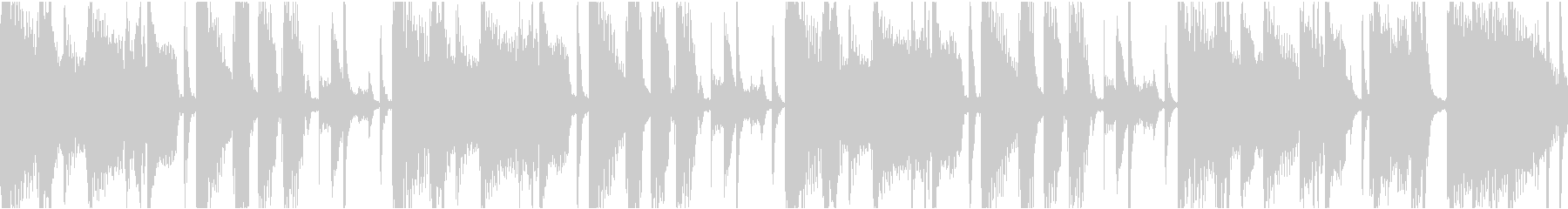 多用途な落ち着いたループBGMの未再生の波形