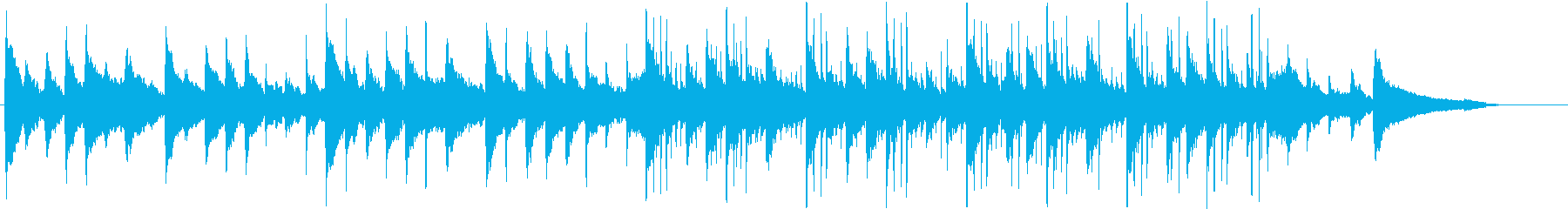 和楽器を使ったほのぼの和風エレクトロの再生済みの波形