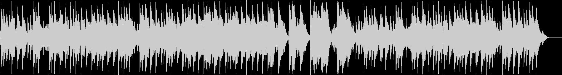アンダンテ・カンタービレ(オルゴール)の未再生の波形
