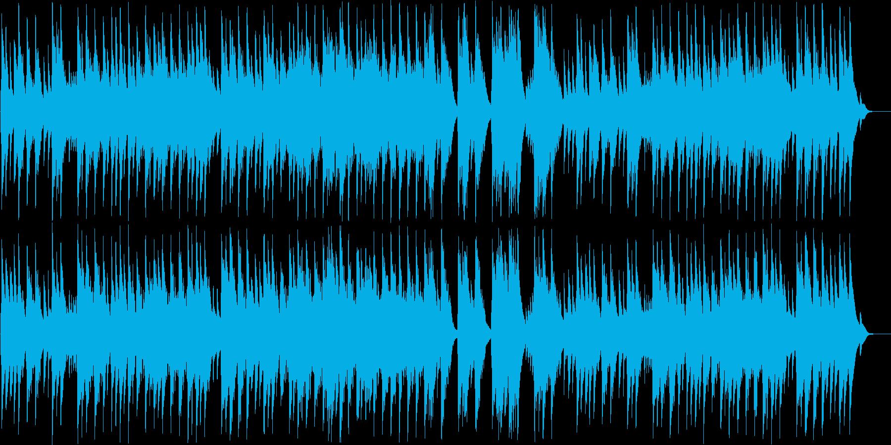 アンダンテ・カンタービレ(オルゴール)の再生済みの波形