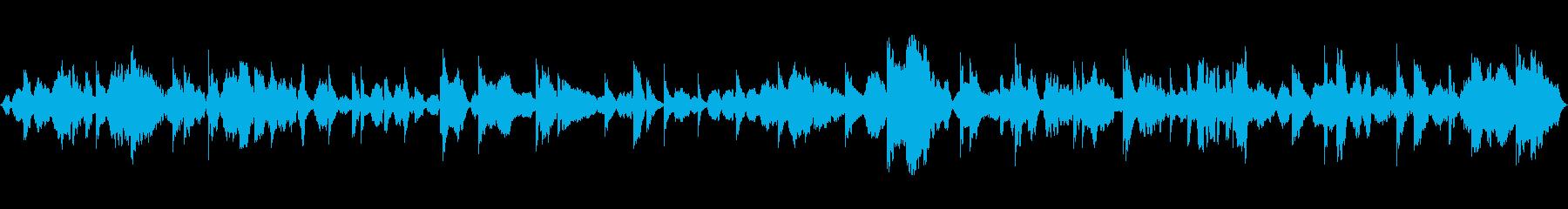 瞑想にクリスタルボウルヒーリング1の再生済みの波形