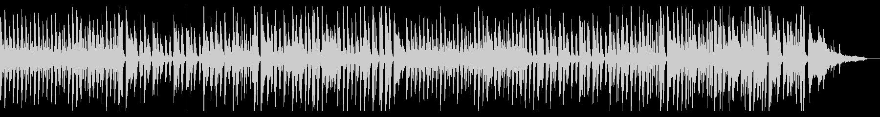 レトロなラグタイム風ホンキートンクピアノの未再生の波形