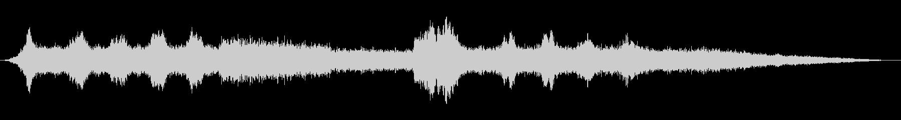 ミ~ンミンミンミ~ン(セミの鳴き声2)の未再生の波形