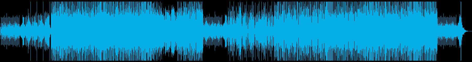 少し不思議な感じのあるポップピアノの再生済みの波形