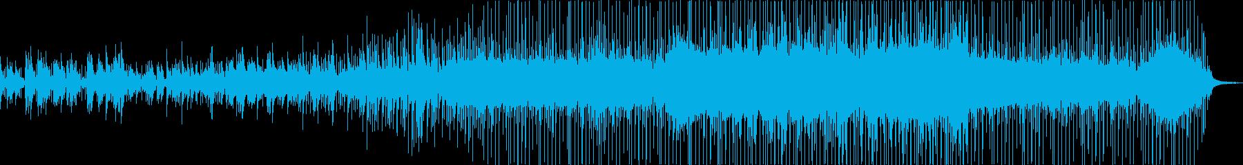 ソウル、リズムnブルー、フュージョ...の再生済みの波形