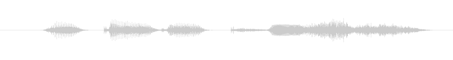 I will have 2 (female)'s unreproduced waveform