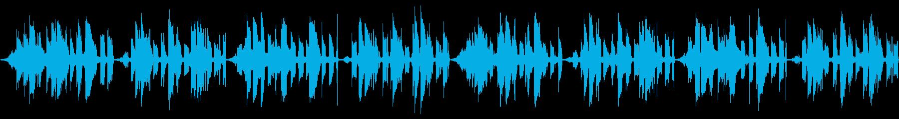 【キラキラしたポップス】の再生済みの波形