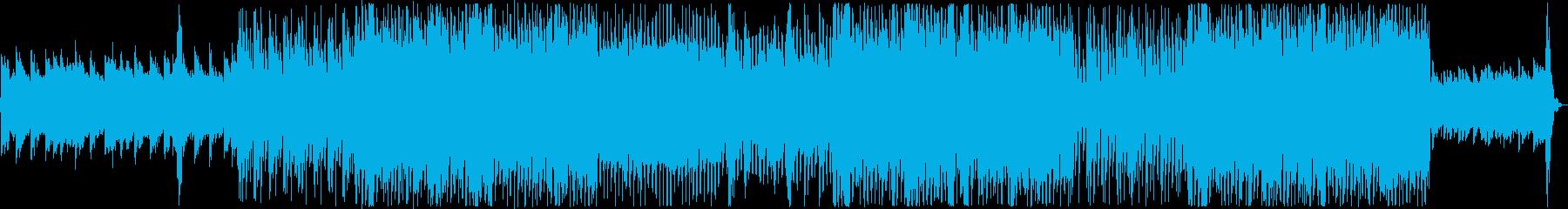 ロックポップ。ソフト、メロディック...の再生済みの波形