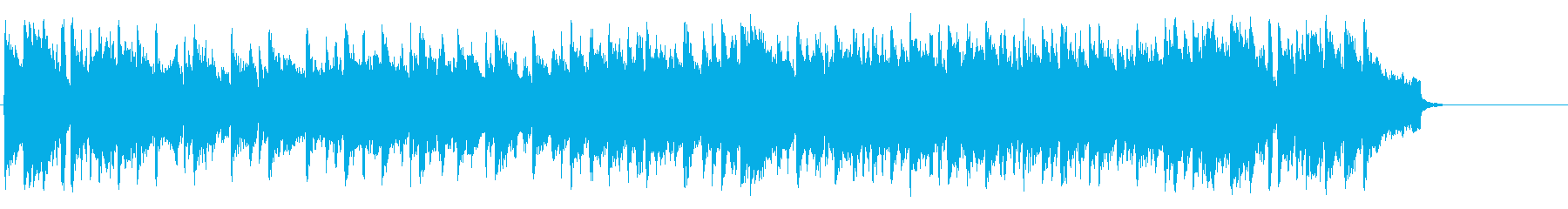 暖かいオープニング向けバラード/ポップの再生済みの波形