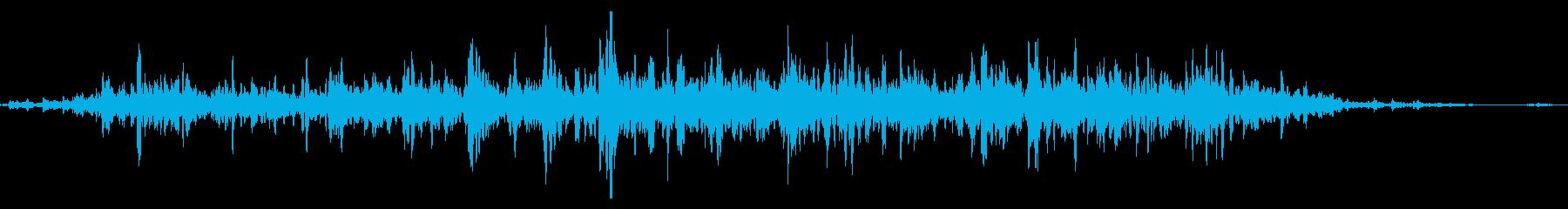 シャラシャラ(鈴の音・優し目)の再生済みの波形