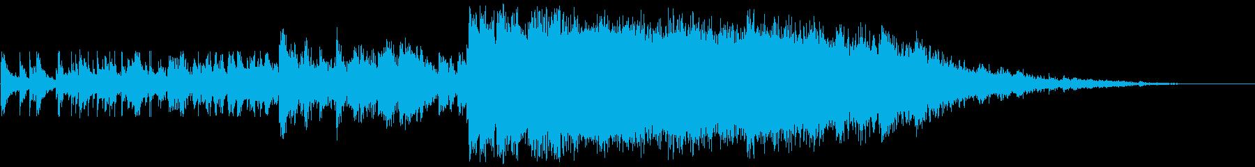 崩壊に至る重金属圧力のき裂の再生済みの波形