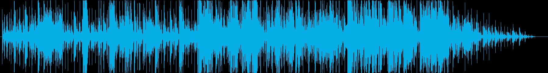 チルアンドブルース。サンタナ。無料...の再生済みの波形