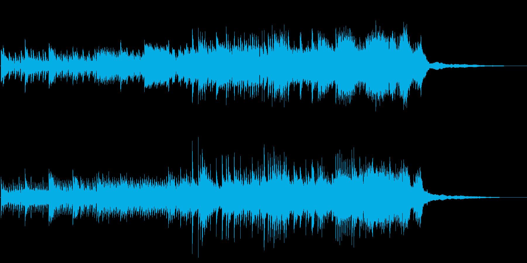 ピアノBGM60秒-ウエディングの再生済みの波形