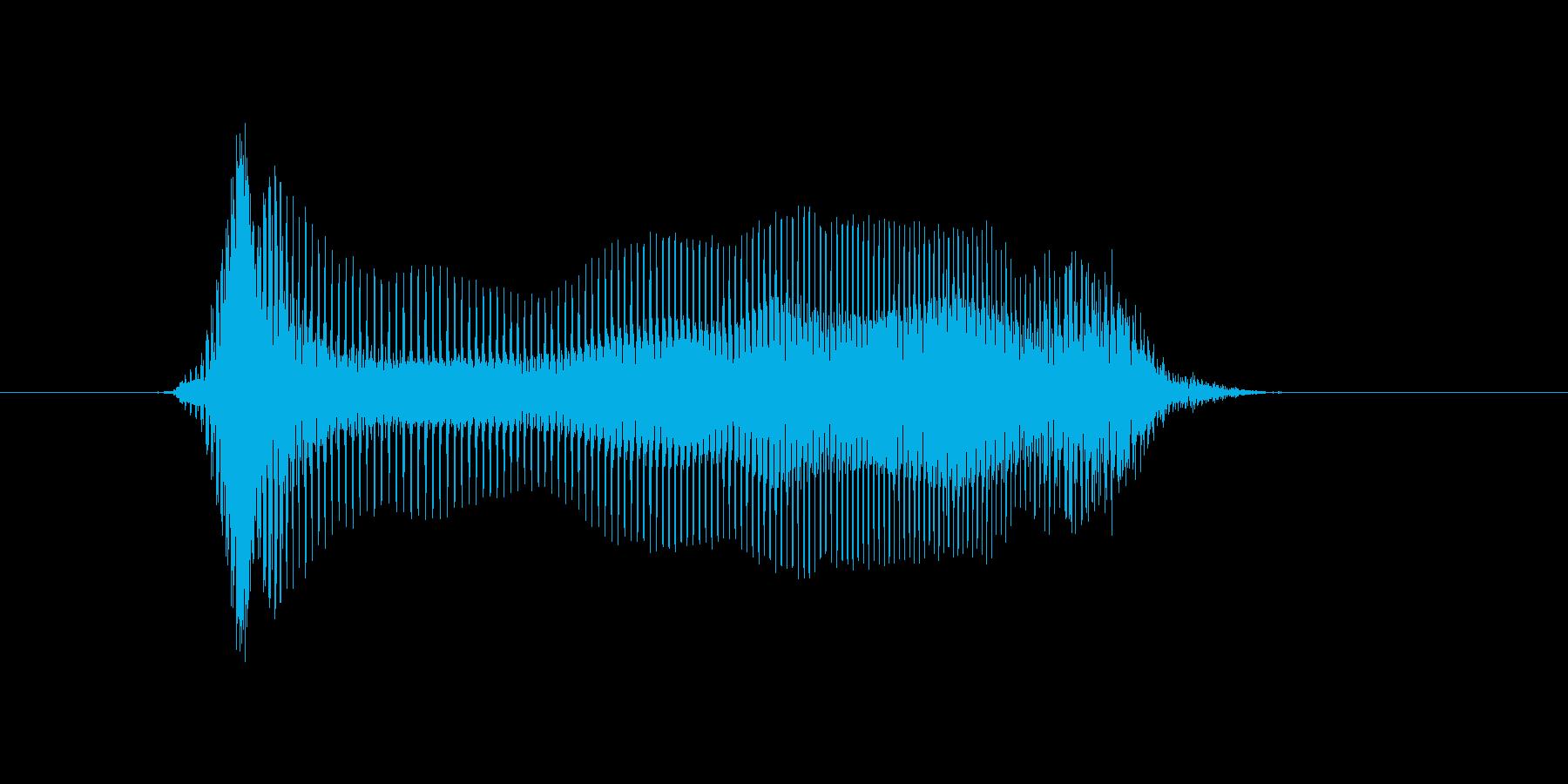 わー! の再生済みの波形