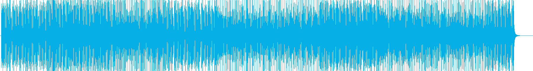 明るい口笛が可愛くお洒落♫ピアノポップの再生済みの波形