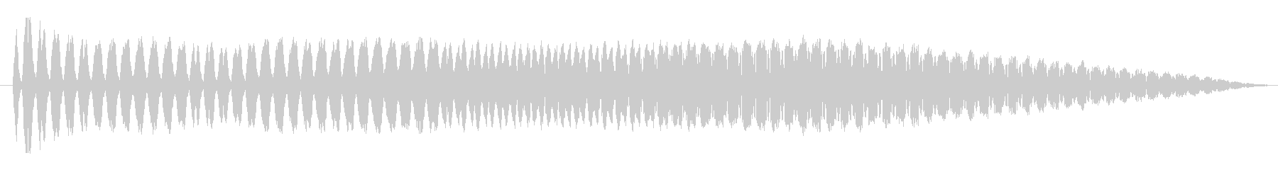FX バブルチャージ02の未再生の波形