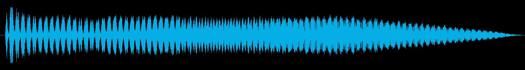 FX バブルチャージ02の再生済みの波形
