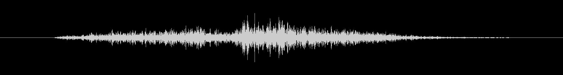 シックル スイング02の未再生の波形
