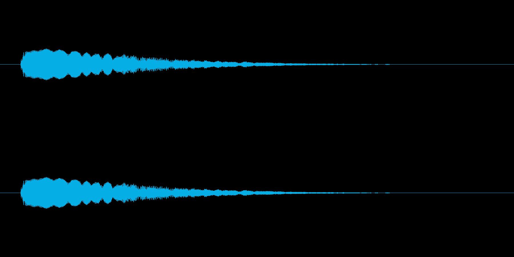 【光る04-2】の再生済みの波形