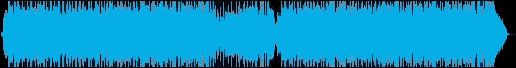 感動的なストリングスとギターポップ 2の再生済みの波形