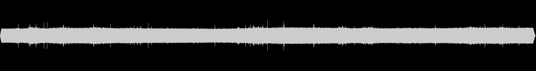 3分間のザーザーの激しいゲリラ豪雨音の未再生の波形