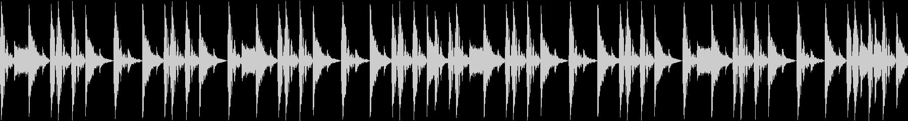 ノリの良いブレークビーツ_001の未再生の波形