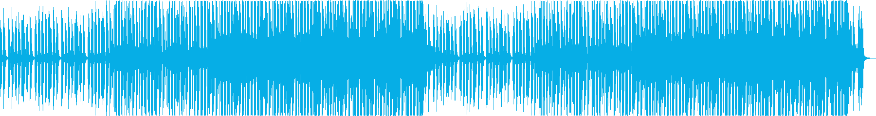爽やかおしゃれかわいい軽快なボサノバaの再生済みの波形