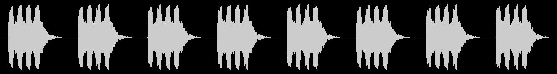 時計 アラーム03-04(強 遠い ルーの未再生の波形