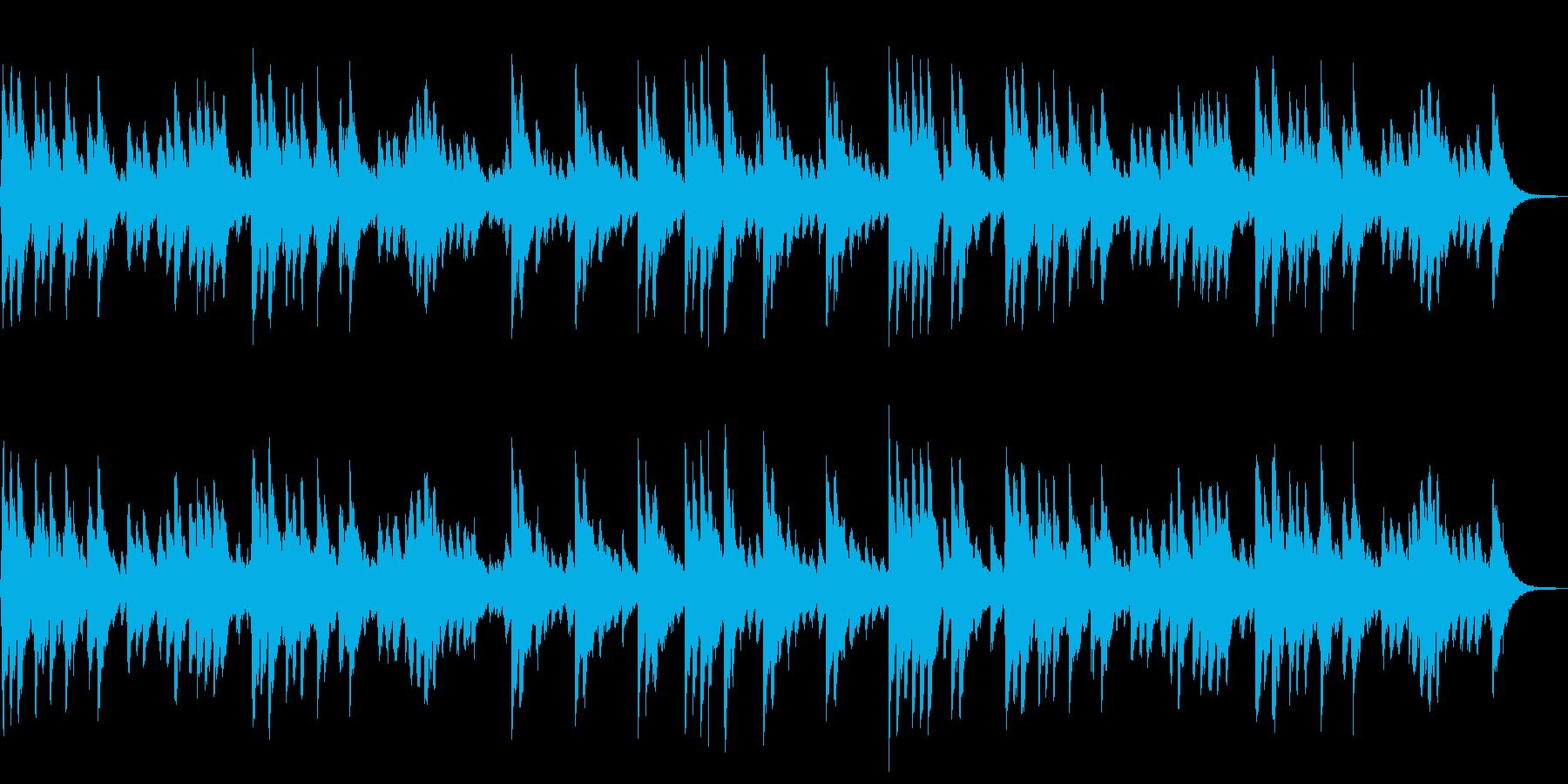 ジングルベル オルゴールと鈴の再生済みの波形