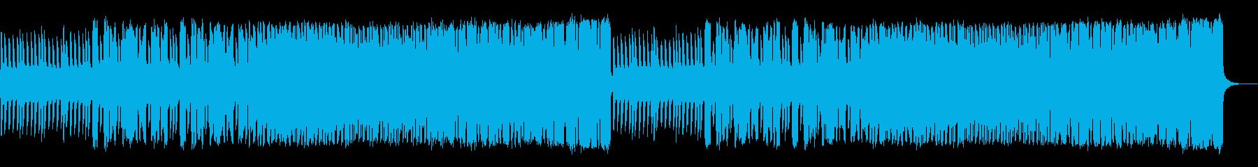 ファンタジックな戦闘曲の再生済みの波形