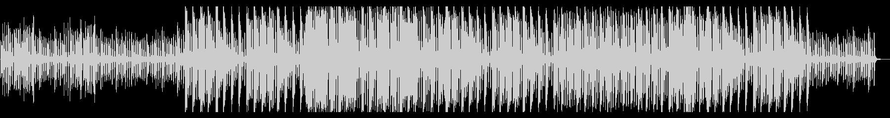 ほのぼのとした日常BGMピアノの未再生の波形