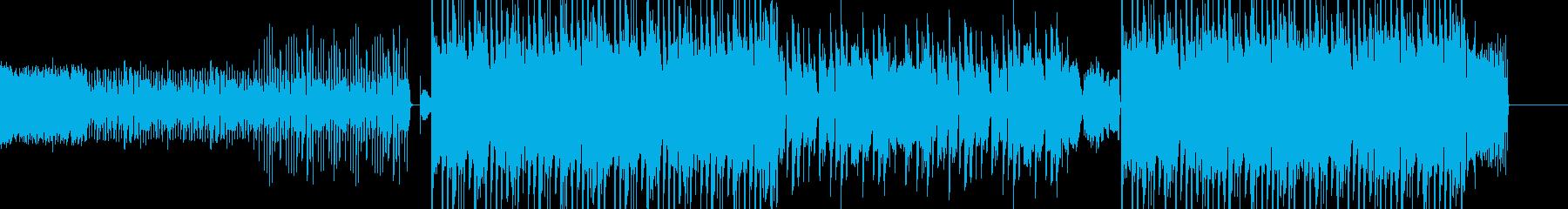 ハロウィンぽいダブステップ エレクトロの再生済みの波形
