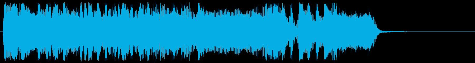 場面転換、想定外の出来事紹介の時等 HVの再生済みの波形