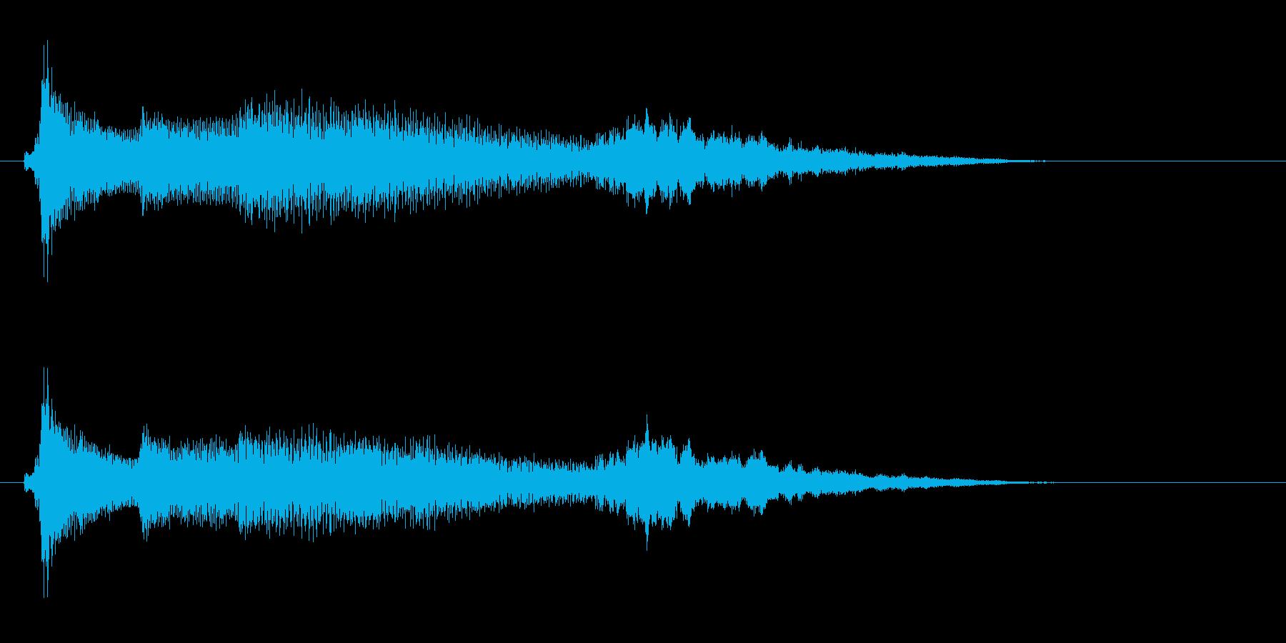 南国SE5 レアカード入手 レベルアップの再生済みの波形