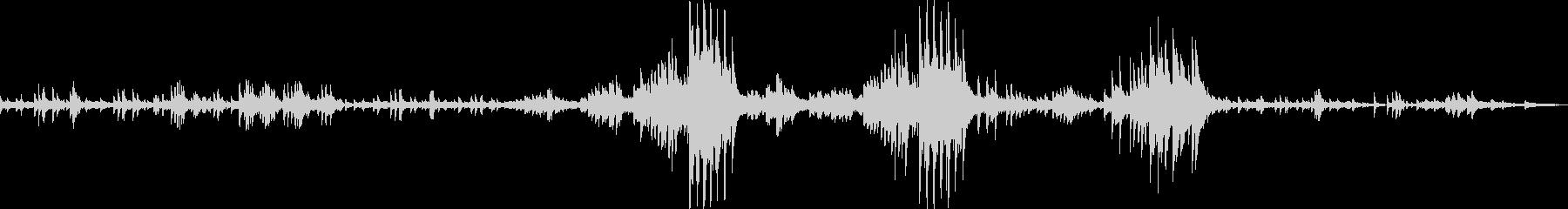 ショパンのプレリュードOp28のNo15の未再生の波形