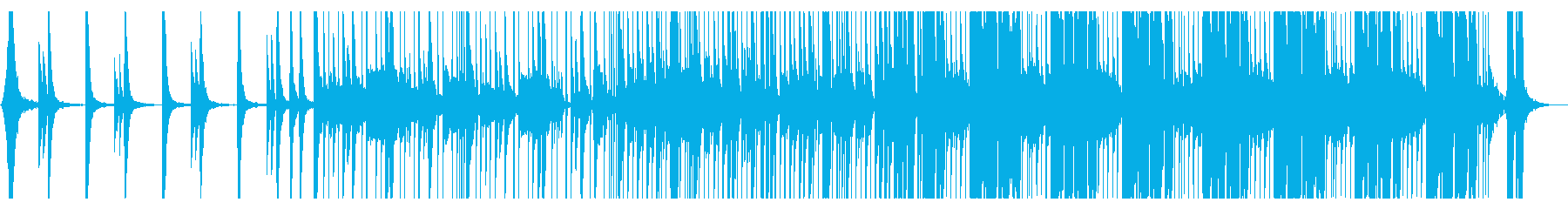 かわいいフューチャーベースNo386_2の再生済みの波形