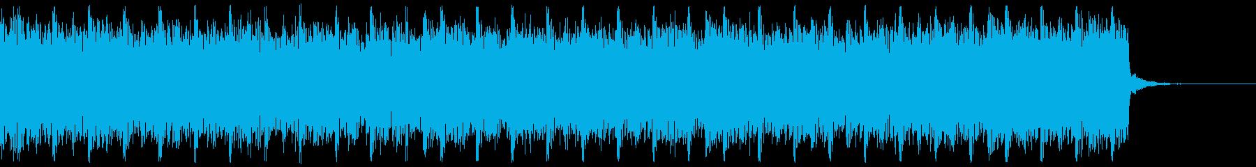 デジタル、CG、SFX等の映像ショート③の再生済みの波形