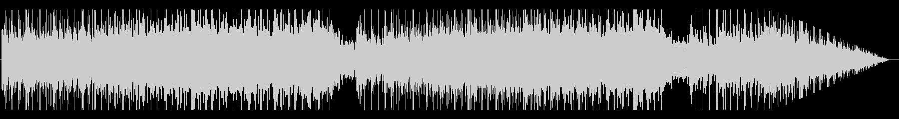 ロックなエレキギター/テンション上げの未再生の波形