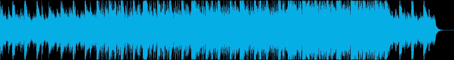 物憂げな日常の雰囲気のエレクトロの再生済みの波形
