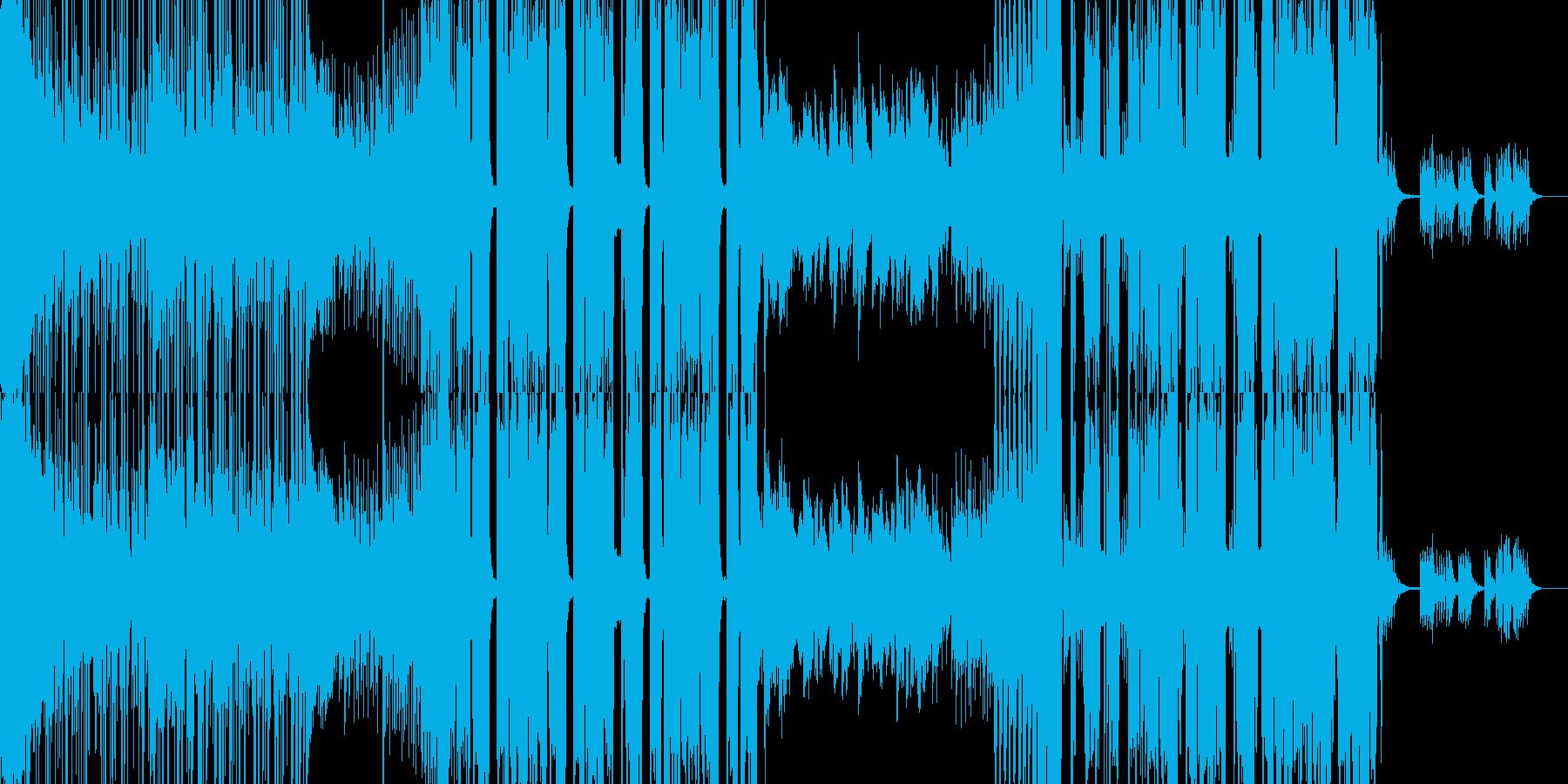 切ない雰囲気のクラブミュージックの再生済みの波形