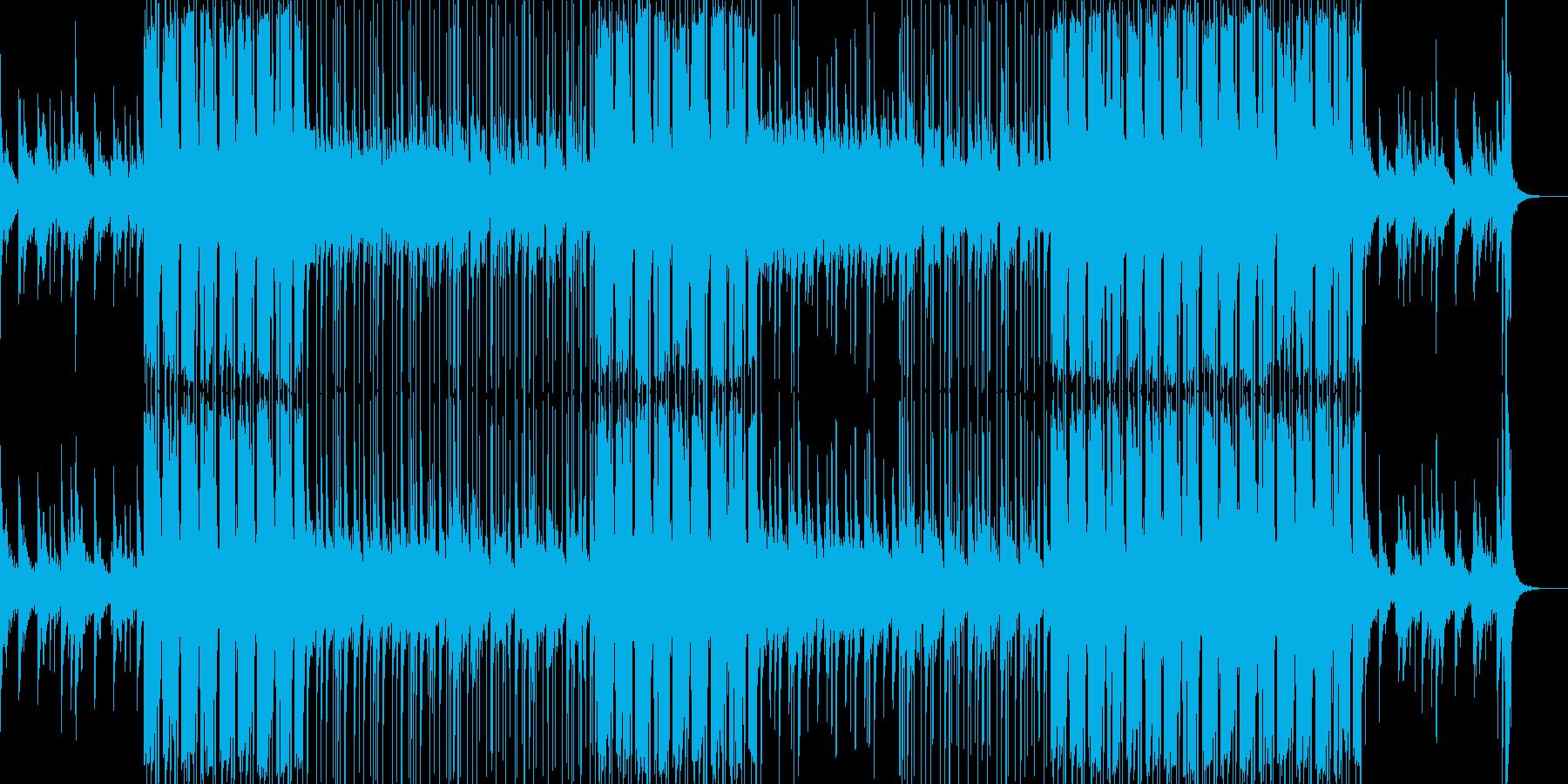 恋愛系に最適なLofiヒップホップBGMの再生済みの波形
