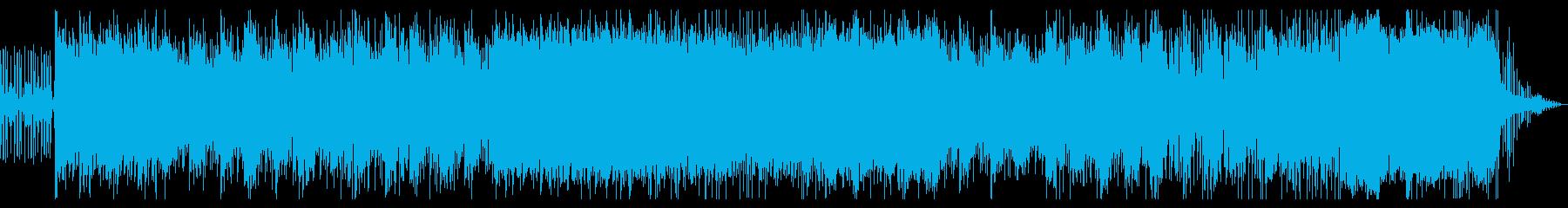 ゲームバトル用オーケストラエキサイトの再生済みの波形