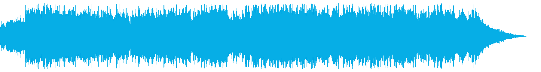 中華風モード中BGM ループ可の再生済みの波形